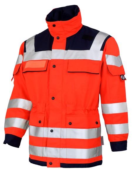 GSG Patronus Rettungsdienstjacke leuchtrot/marine