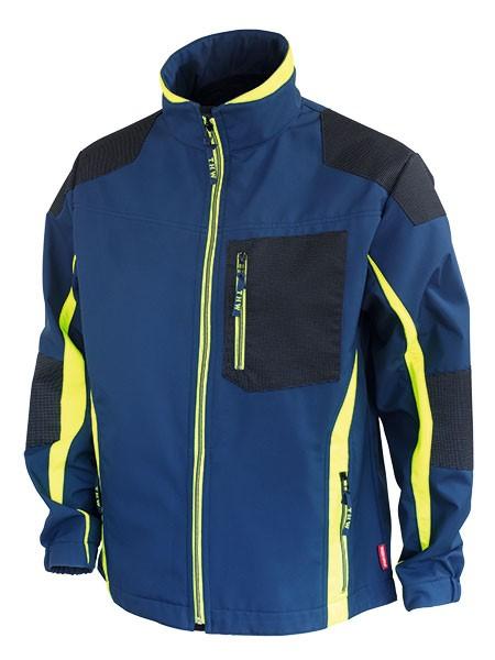 GSG Thw Softshell Jacke Windstopper blau/gelb