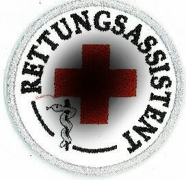 Emblem Rettungsassistent 8 cm