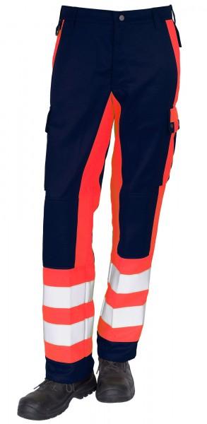 GSG Magnus Rettungsdiensthose marine/leuchtrot