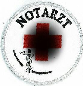 Emblem Notarzt 8 cm