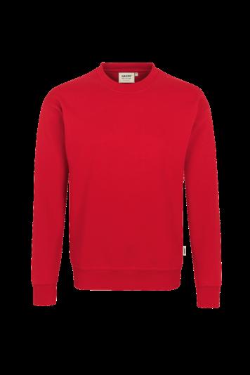 HAKRO Sweatshirt Performance rot 475