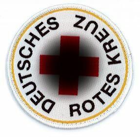 DRK Emblem 8 cm