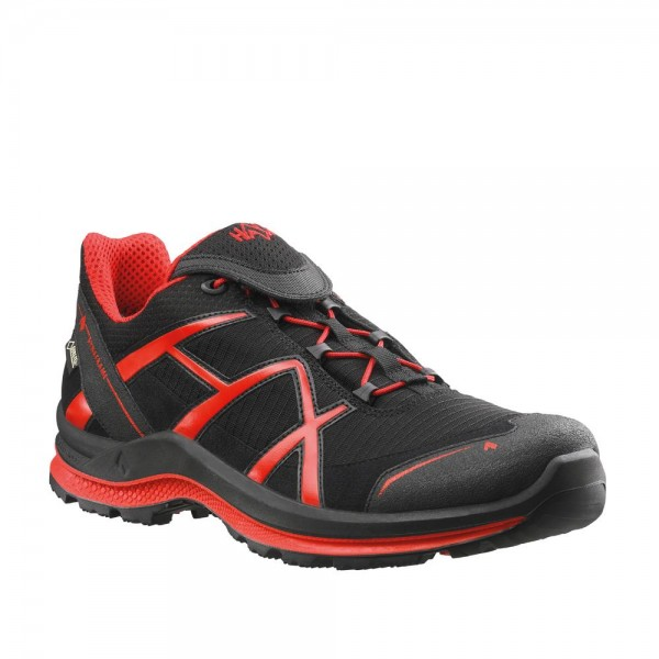 HAIX BLACK EAGLE Adventure 2.0 low black/red