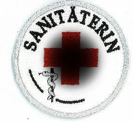 Emblem Sanitäterin 8 cm