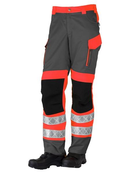 GSG Exciter Bonn2021 Rettungsdiensthose Klasse 1 grau/leuchtrot