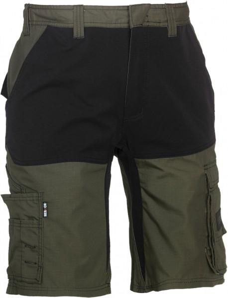 HEROCK Hespar Bermudas Hose dunkel khaki/schwarz