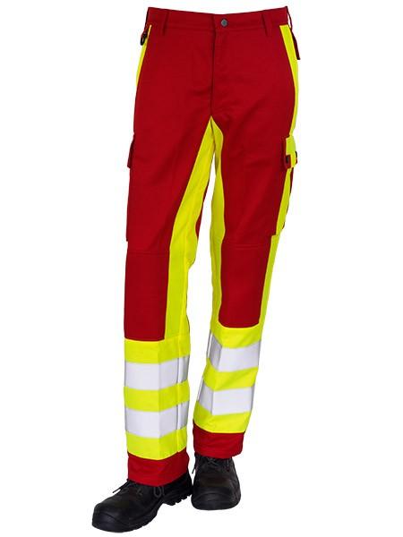 GSG Magnus Rettungsdiensthose rot/gelb