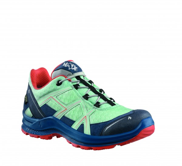 HAIX BE Adventure 2.2 GTX Ws low/sky-orange