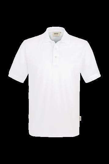 HAKRO Poloshirt Performance weiß 816