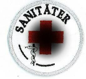 Emblem Sanitäter 8 cm