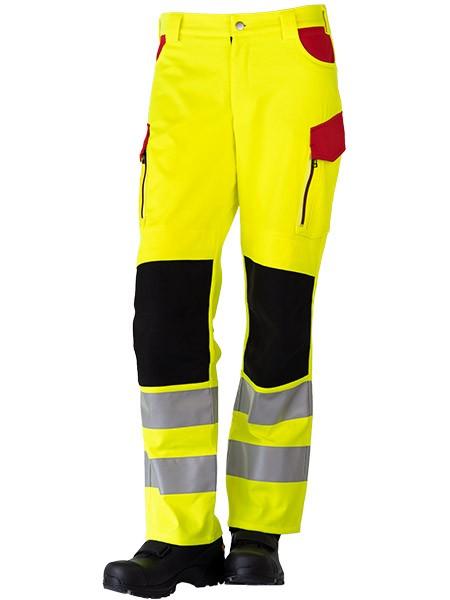 GSG Exciter Rettungsdiensthose Klasse 2 gelb/rot