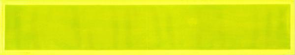 Rückenschild gelb Blanco 42x8cm
