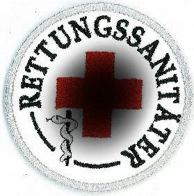 Emblem Rettungssanitäter 8 cm