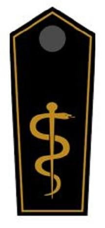 Schulterklappen Arzt auf KV-/Bezirks-Ebene