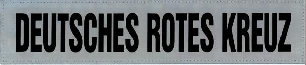 Rückenschild silber DEUSTCHES ROTES KREUZ 38x8cm